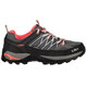 CMP Campagnolo W's Rigel Low WP Trekking Shoes Grey-Red Fluo